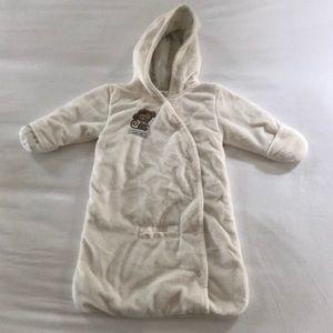 Baby super soft blanket/snowsuit